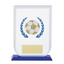 Gladiator Football Glass Plaque Soccer